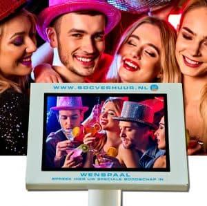 Videobox/Videogästebuch mieten für Hochzeiten und andere Veranstaltungen