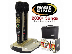 Karaoke-Set mit 2000 Songs
